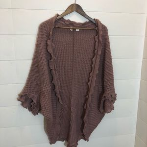 Moth by Anthropologie beautiful  rose sweater